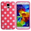 Movizy polka dot cover Samsung Galaxy S5 - rood