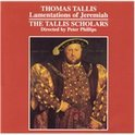 Tallis: Lamentations of Jeremiah / Phillips, Tallis Scholars