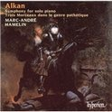 Alkan: Symphony for Solo Piano etc / Marc-Andre Hamelin