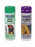 Nikwax Tech Wash en Nikwax TX.DIRECT wash-in voor waterafstotende textiel - 2 x 200 ml