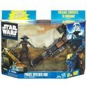 Pirate Speeder Bike 3.75 inch Action Vehicle and Figure