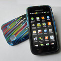 Samsung Galaxy S (Plus) hoesje case cover 'Vallende sterren'