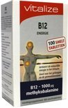 Vitalize Vitamine B12 - 100 tabletten - Voedingssupplement