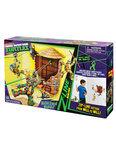 Teenage Mutant Hero Turtles Z-Line Water Tower Wash Out- Speelset