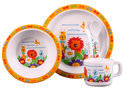 K-nuffel - Kinderservies/Bestek - Jungle Oranje