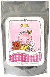 Blond Amsterdam Tea card 'Girl' (groen thee citroen)