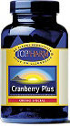 Toppharm Cranberry Plus - 120 capsules - Voedingssupplement