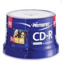 Memorex CD-R 80Min.700MB 52X SP (50)
