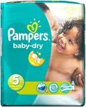 Pampers Baby luier Baby Dry Maat 5 - 165 stuks