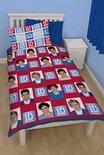 One Direction dekbedovertrek - Multi - 1-persoons (140x200 cm + 1 sloop)