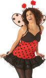 Ladybird dress - Kostuum - Maat M - Rood