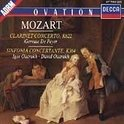 Mozart: Clarinet Concerto, Sinfonia Concertante / Maag, LSO