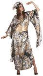 Superluxe Africaanse Koningin - Kostuum - Maat M - Goud