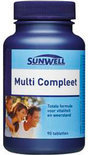 Sunwell Multi Compleet - 90 Tabletten - Multivitamine