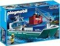 Playmobil Vrachtschip met Laadkraan - 5253