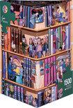 Books, Kravarik - Legpuzzel - 1500 Stukjes