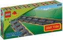 LEGO Duplo Ville Rechte rails - 2734