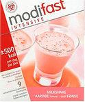 Modifast Aardbei -  Milkshake - Drinkmaaltijd - 9 stuks