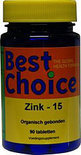 Best Choice Zink 15 - 90 tabletten