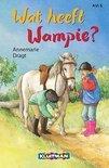 Kim en Wampie. Wat heeft Wampie?