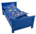Coming Kids Heroes - Dekbedovertrek 70x150 cm - Blauw