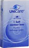 Unicare Maand -1.00 - 1 stuks - Contactlenzen