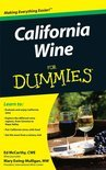 Ed McCarthy - California Wine For Dummies