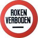 """Bord """"Roken Verboden"""" - Ø 23,6 cm"""