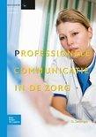 Basiswerk V&V Niveau 3/4 - Professionele communicatie in de zorg