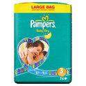 Pampers Baby Dry - Luiers Maat 3 Jumbopak 72 stuks