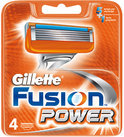 GILLETTE  Scheermesjes Fusion Power + leaflet  4-pack