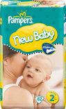 Pampers New Baby - Luiers Maat 2 - Voordeelpak 62st
