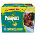 Pampers Baby Dry - Luiers Maat 5 - Jumbo box plus 66st