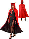 Reversible Cape Halloween Volwassenen