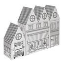 Villa Carton Stedenblokken Stad / Winkels