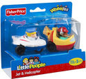 Fisher-Price Little People Wheelies Vliegtuigen