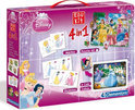Edu Kit 4 in 1 Disney Princess - Domino Memory Puzzel Cubes