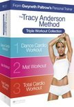 Tracy Anderson Method: Triple Workout – Dance Cardio Workout, Mat Workout en Total Cardio Workout  (Fitness DVD collectie)