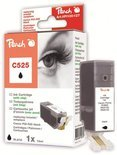 Peach C525 - Inktcartridge / Zwart
