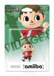 Nintendo amiibo Super Smash Figuur Villager - Wii U + NEW 3DS