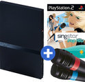 Playstation 2 & Singstar Pop Hits & Microphones