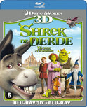 Shrek The Third (3D + 2D Blu-ray)