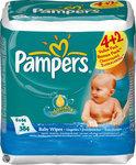 Pampers Fresh - Babydoekjes - 6 x 64 stuks