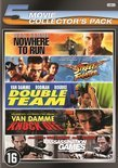 ASSASSINATION GAMES / DOUBLE TEAM / KNOCK OFF / NOWHERE TO RUN / STREET FIGHTER - 5 PACK