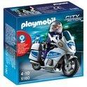 Playmobil Politiemotor met Zwaailicht - 5180