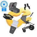 Koelstra Binque Daily Pack - Kinderwagen Compleet - Grijs