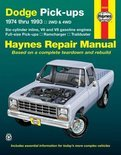Dodge Pick-ups (74-93) Automotive Repair Manual