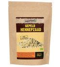 SuperFoodZ Hennepzaad gepeld  Bio RAW -  300 gram - Voedingssupplementen - Superfood