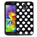 Movizy polka dot cover Samsung Galaxy S5 - zwart