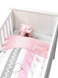 Coming Kids Bedtime - Dekbedovertrek 60x120 cm - Roze